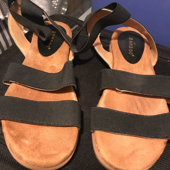BAMBOO Shoes   Stretchy Sandals   Poshmark